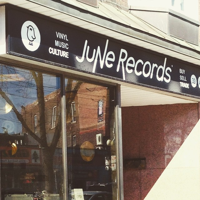 Dropped off some KASHKA vinyl at @JuneRecords today. Go pick one up and support 'em.       #kashka #vinylrecords