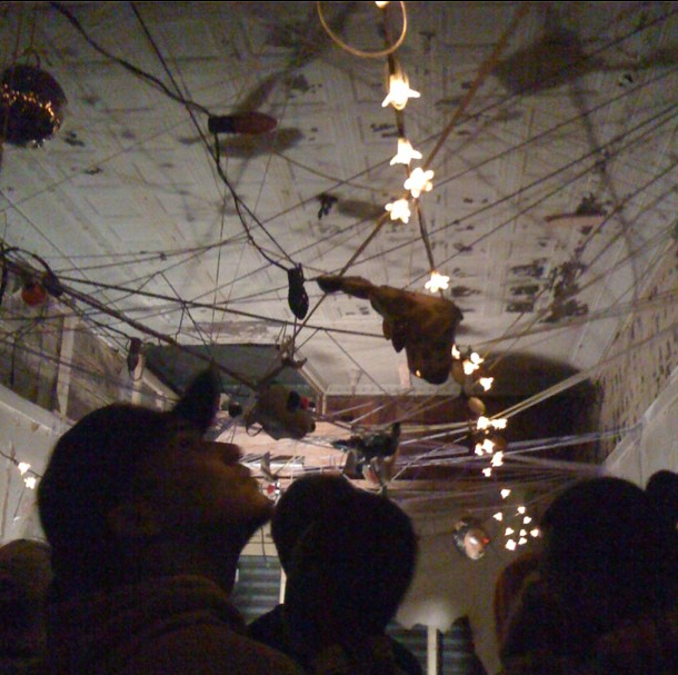 Brooklyn @ the LAB, a wicked crazy artspace that we had the pleasure of performing in. What a wild show!