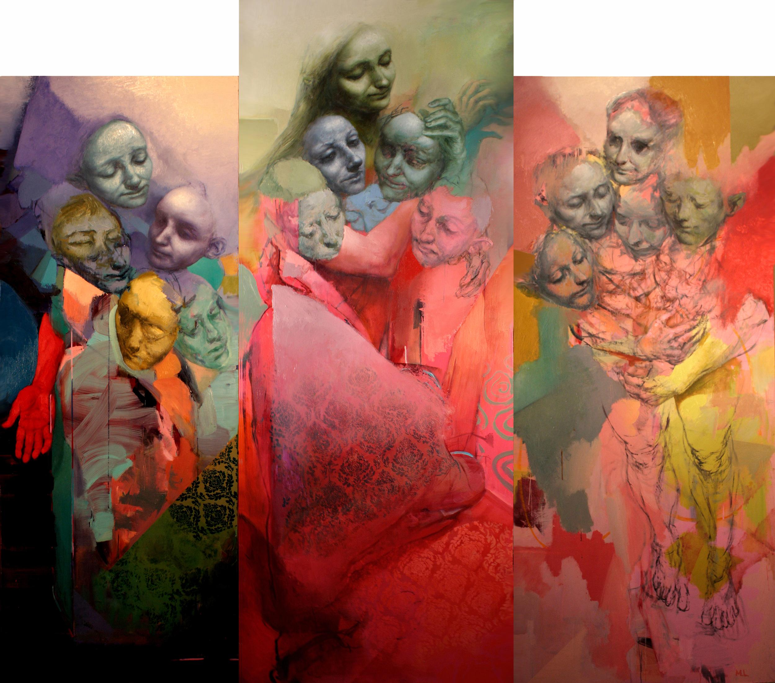 Top Heavy (Triptych)
