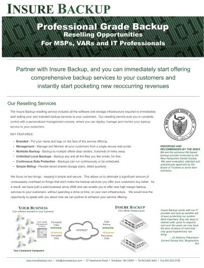 Download the MSP Brochure (PDF)