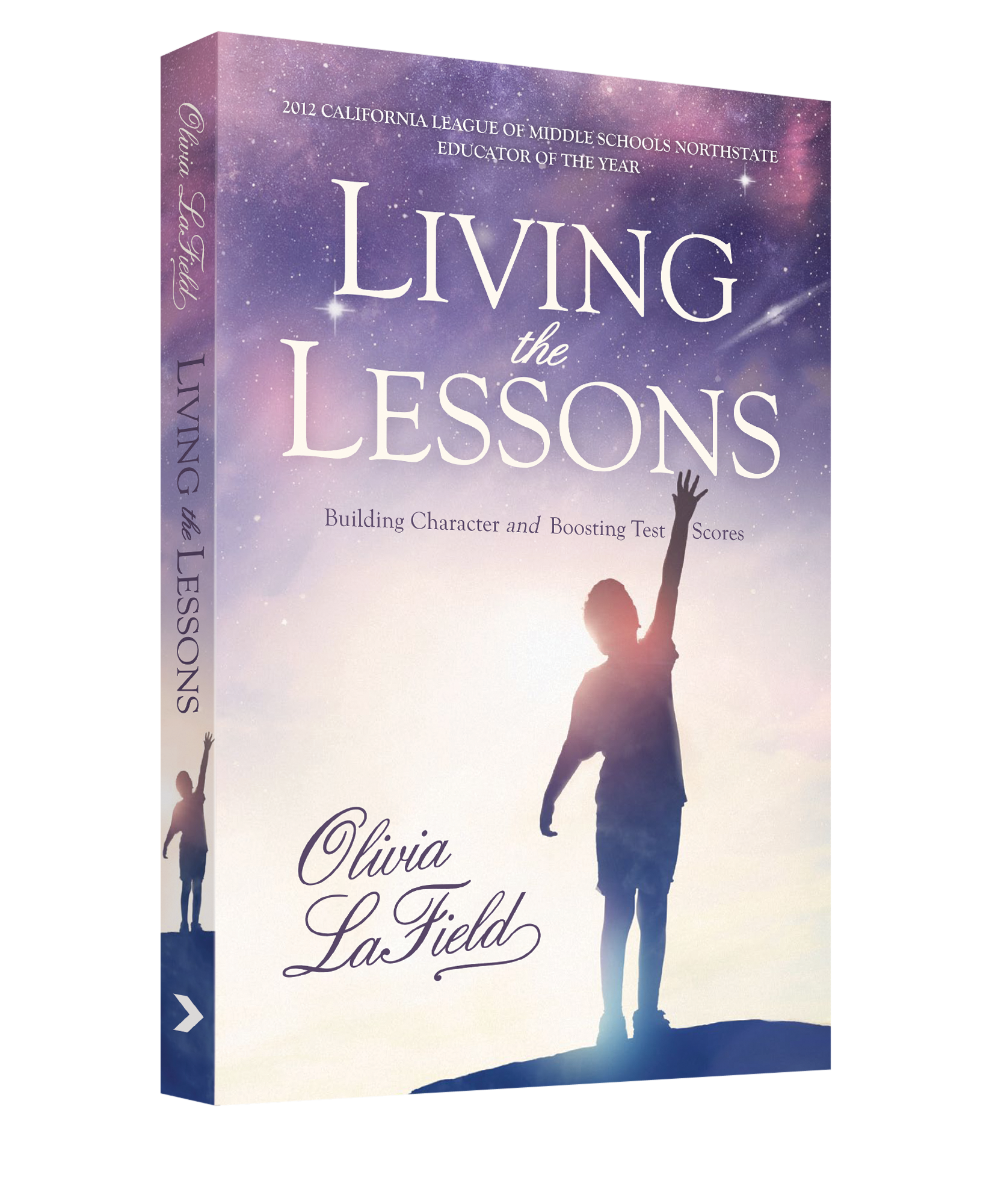 Book Cover Design / Living the Lessons