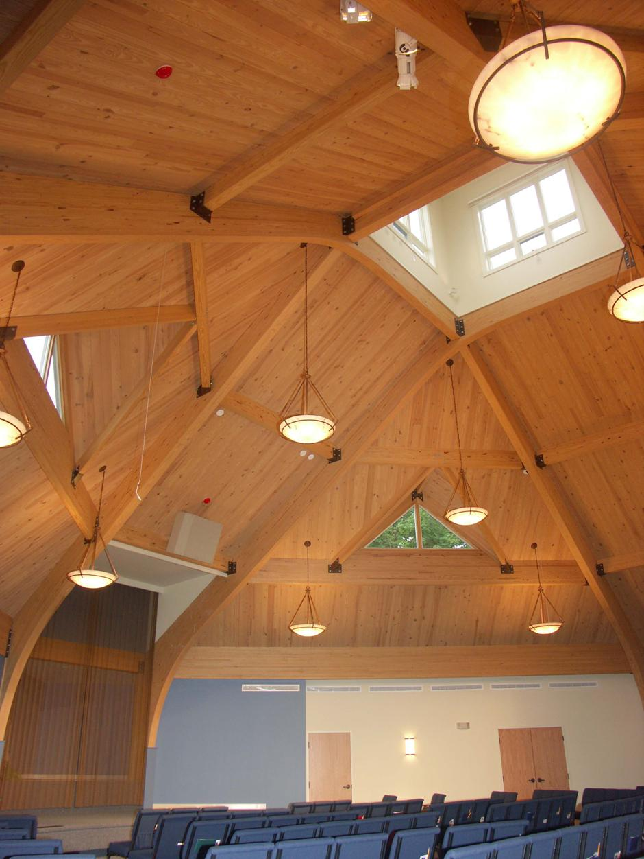 Church Ceiling, Southern Yellow Pine, 2002