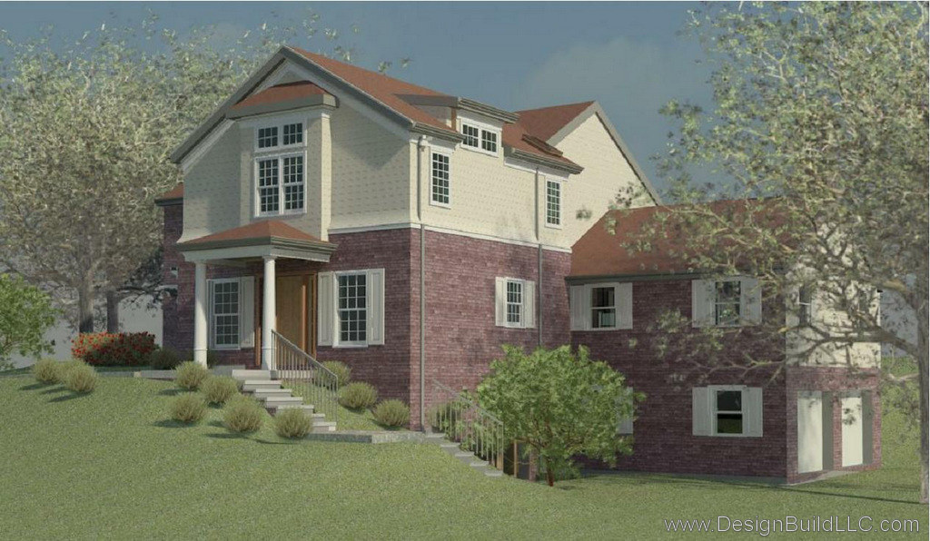 Rendering of Front Elevation