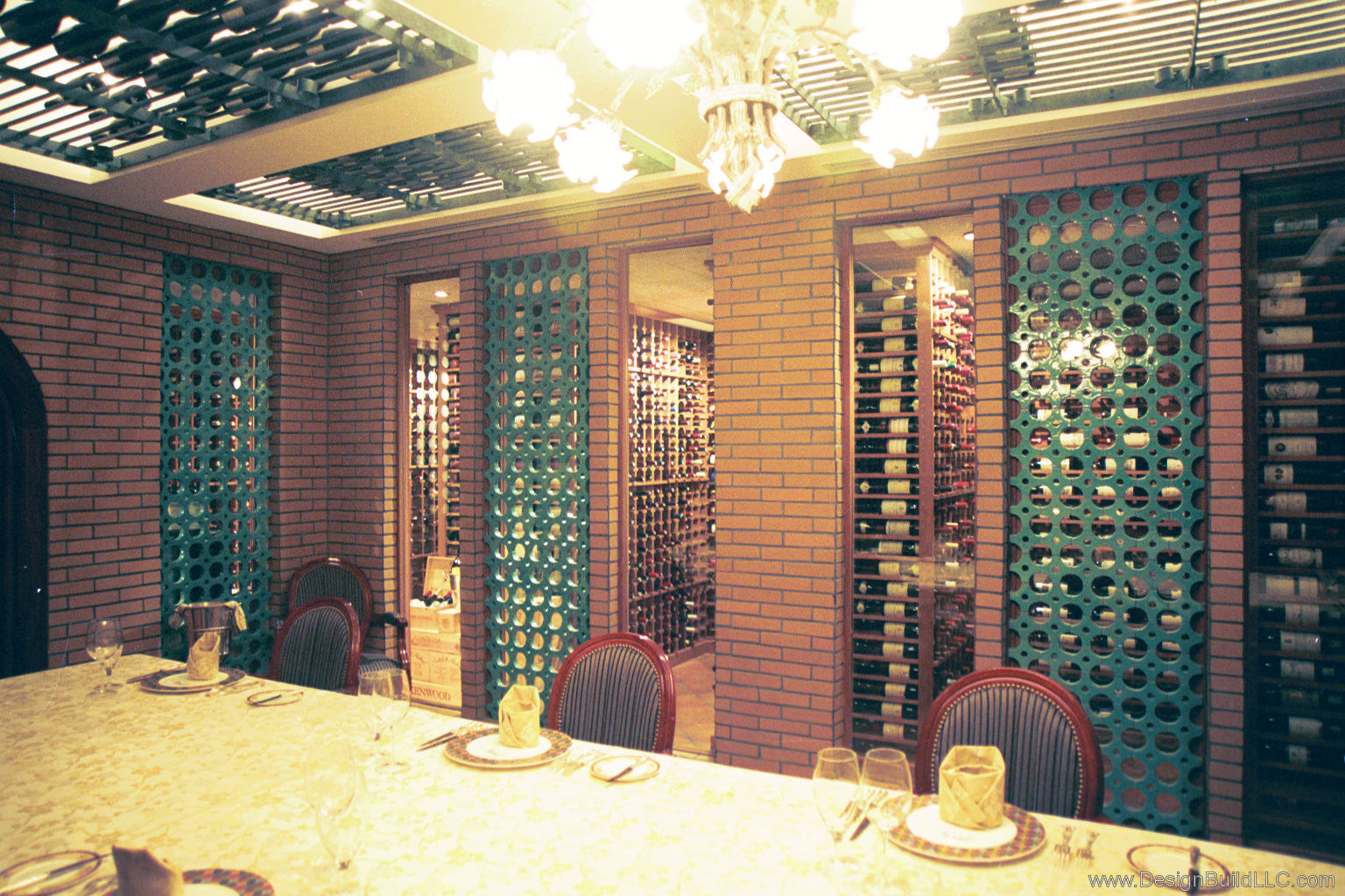 View of Wine Storage
