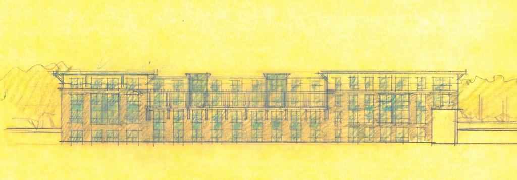 Rear Elevation Conceptual Drawings