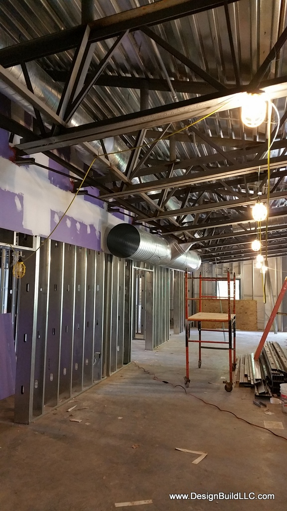 Ductwork Rough In