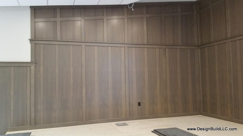 Stage Area Wainscot