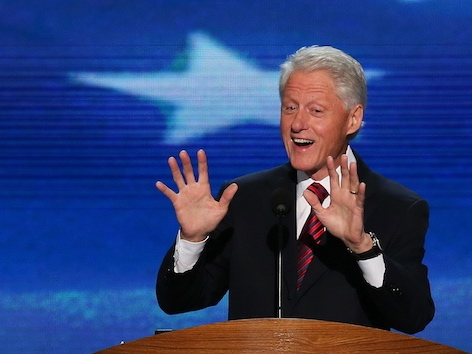 Bill Clinton uses the power of his presence to compel an audience. What if you could do it too?