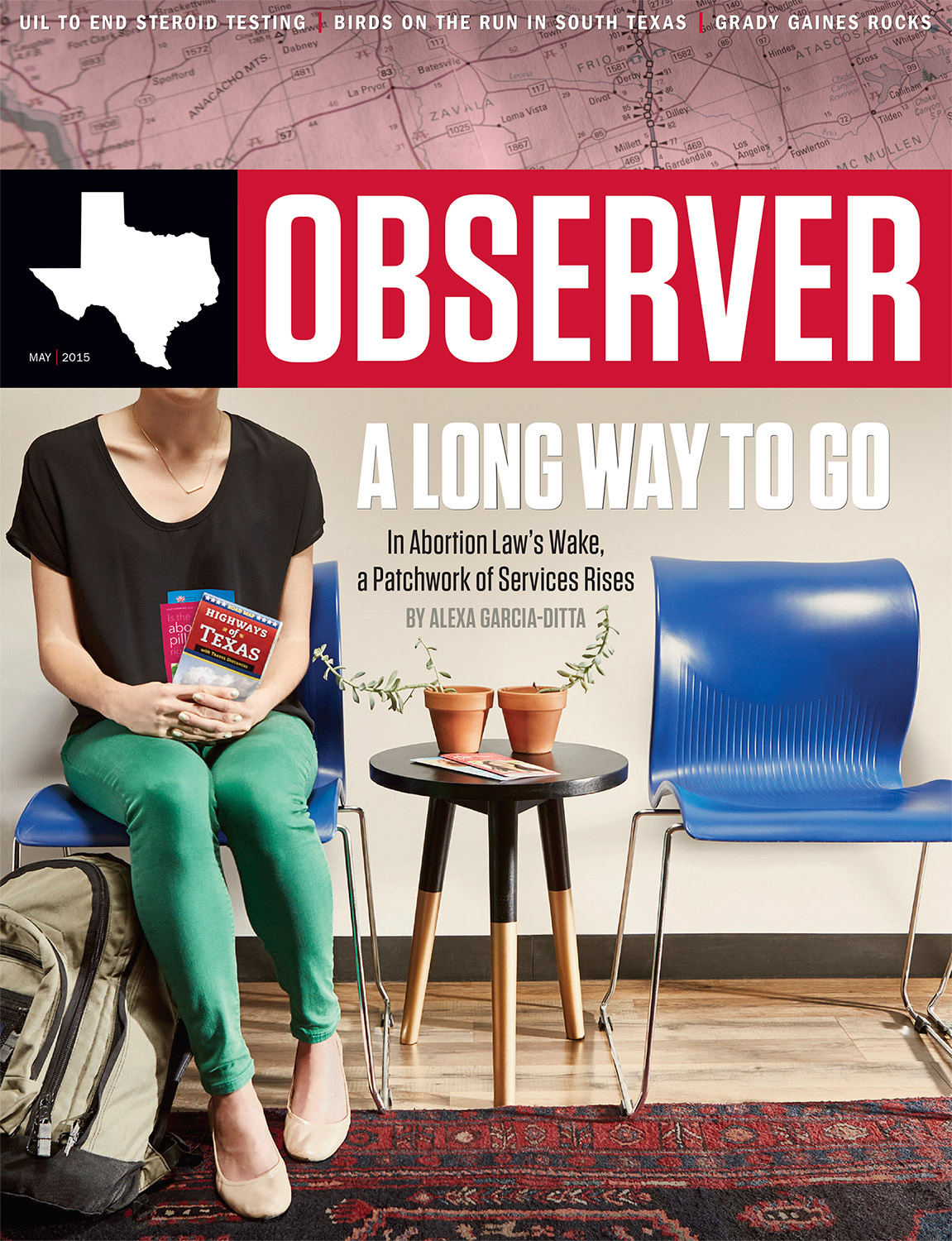 COVER // THE TEXAS OBSERVER // MAY 2015
