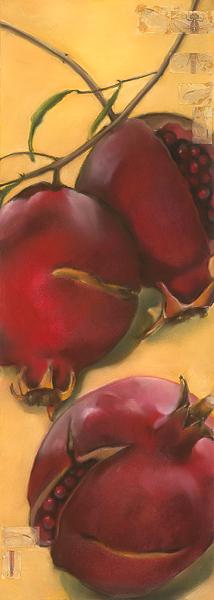 Vertical Pomegranates