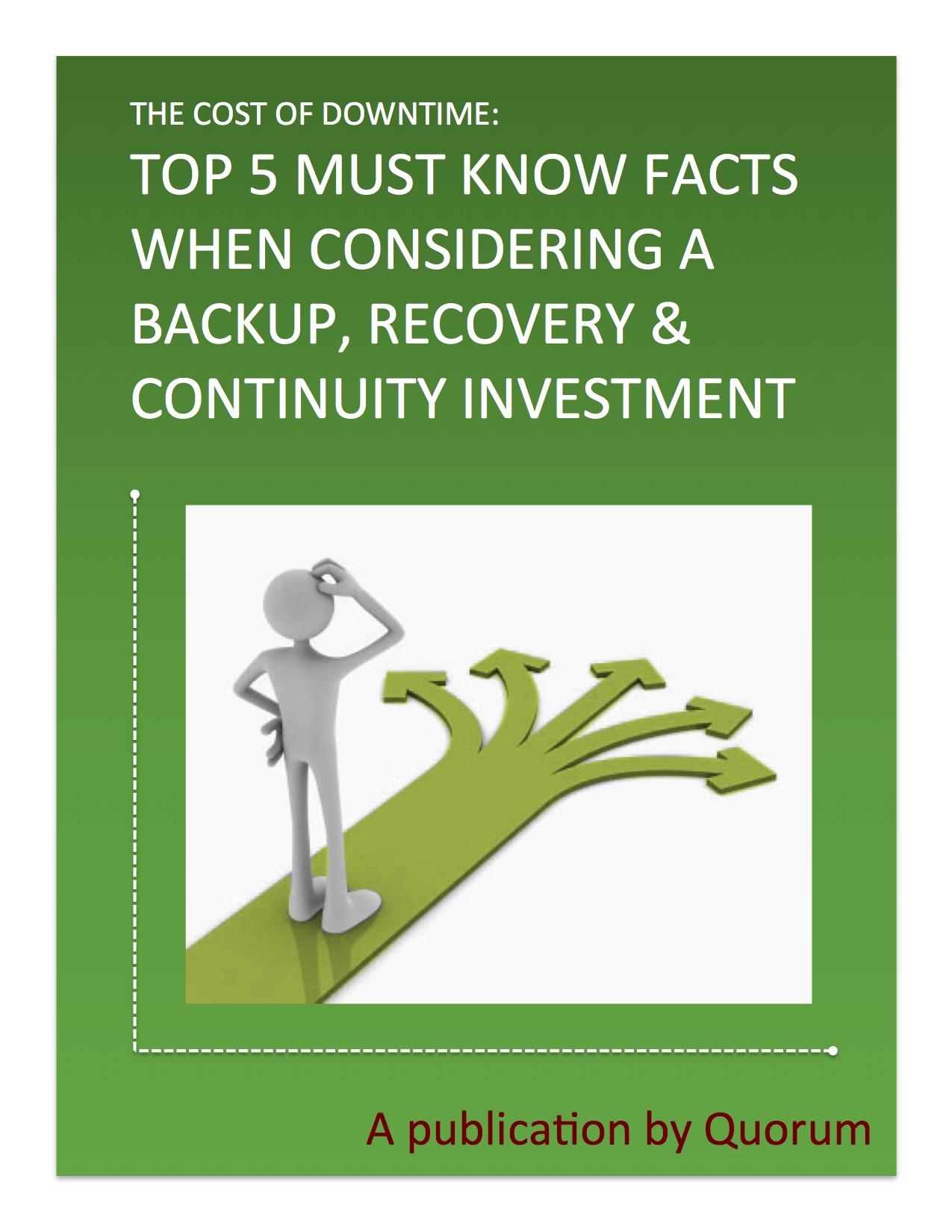 Top 5 Backup Considerations