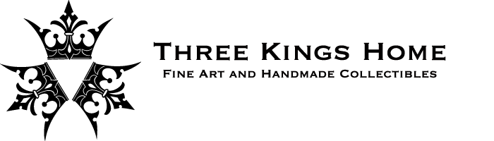 Welcome to the THREE KINGS HOME online store. Art and hand made collectibles are also for sale at  Three Kings Tattoo  in Brooklyn, New York. For product inquiries or customer service, please email  McWattShop@gmail.com