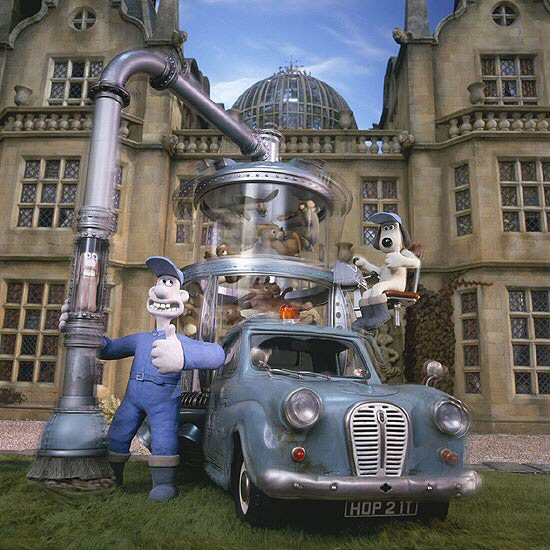 Wallce and Gromit who are big into custom projects! If you haven't seen them yet you have missed something big.