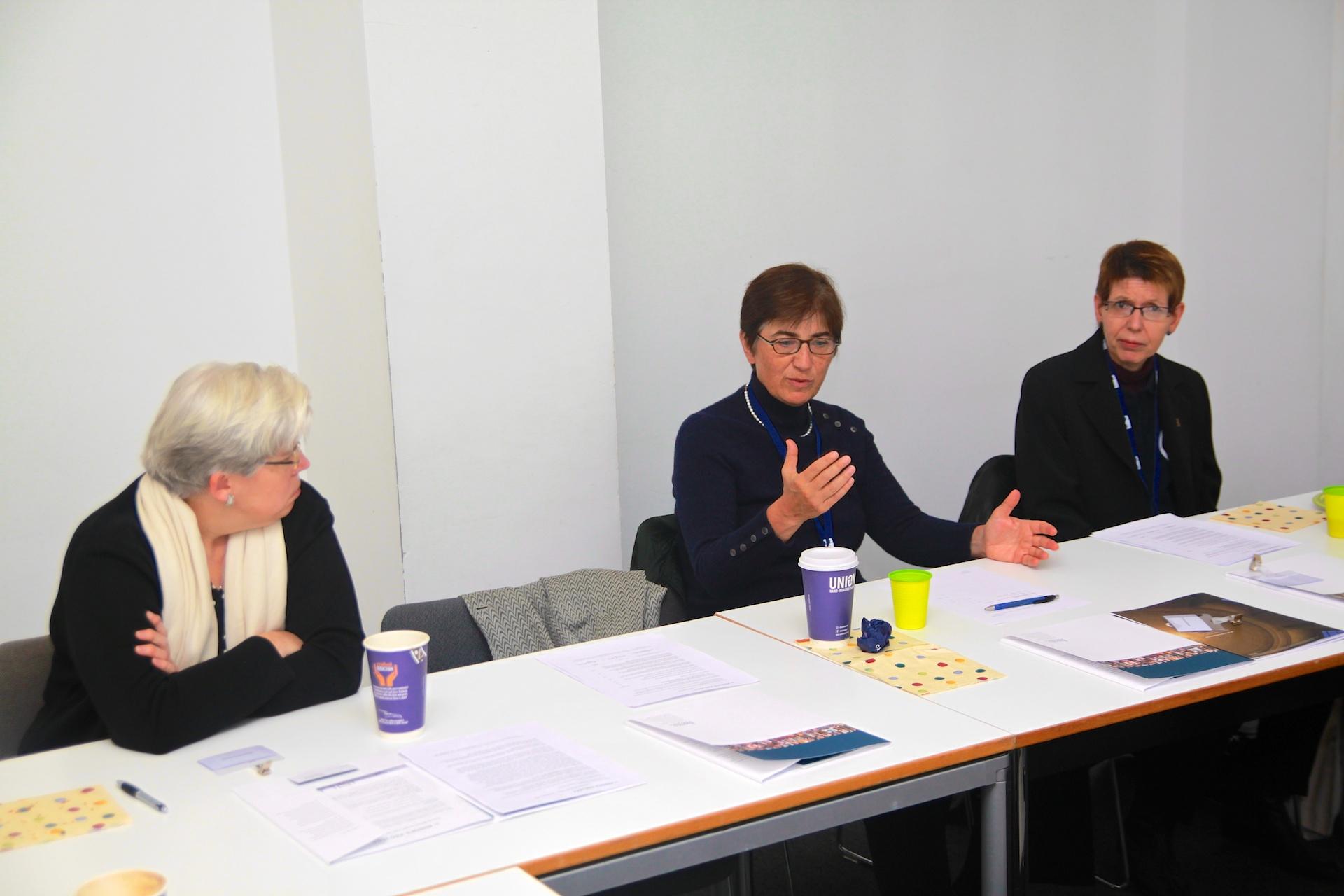 Scholars Barbara Grewe, Susan Karamanian and Charalee Graydon