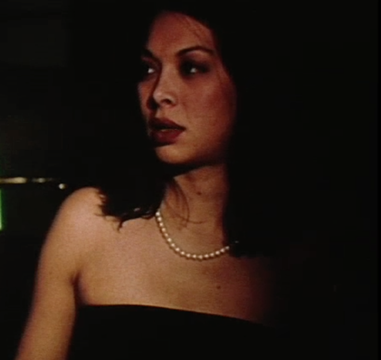 Rebecca as the Femme Fatale in a Silent Short