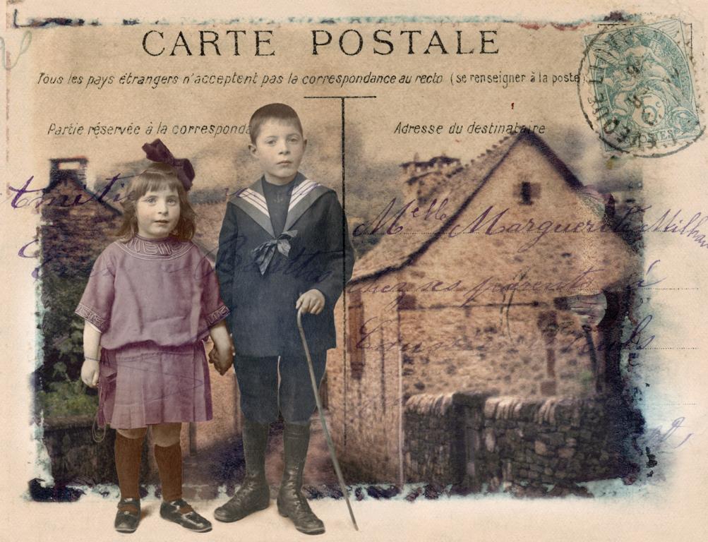 Carte Postale: French Children