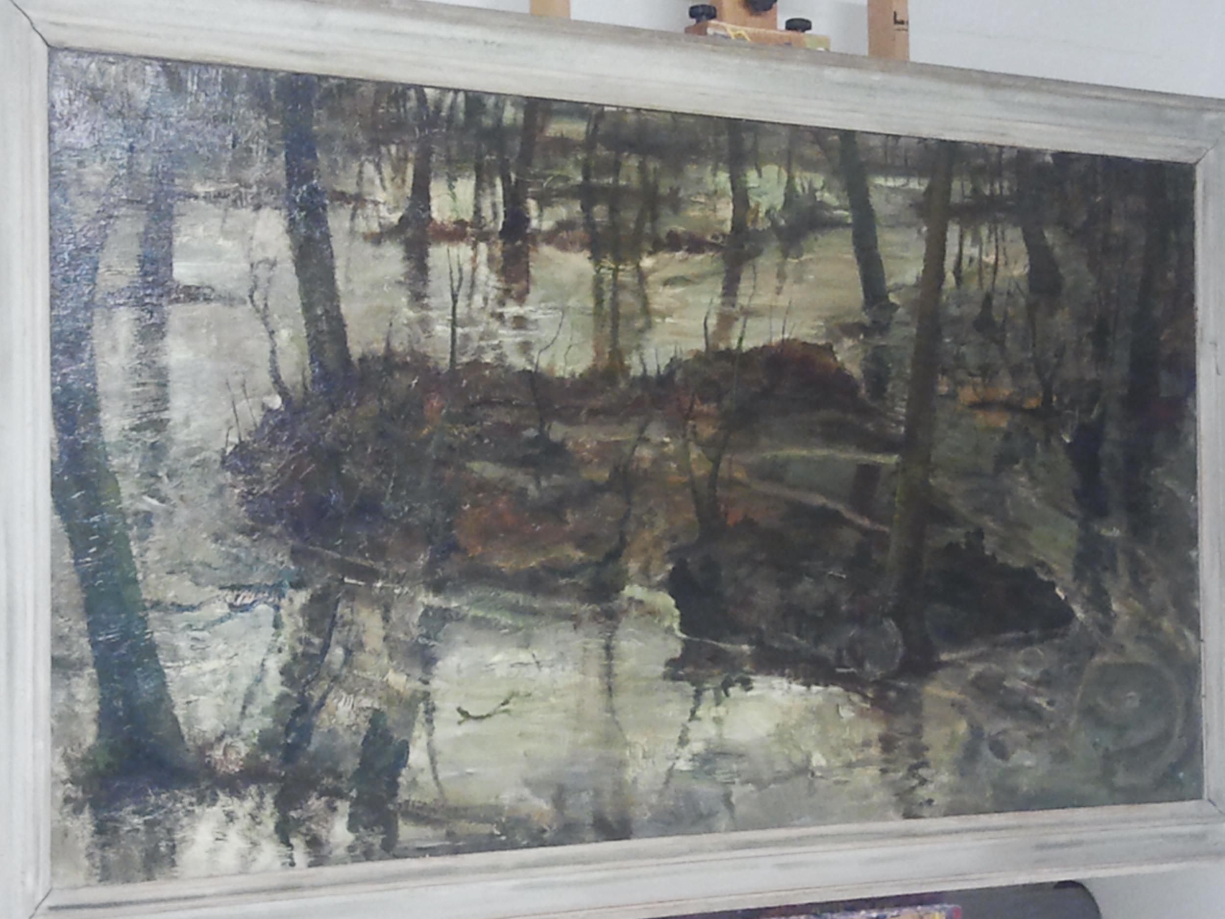 Jan Meine Jansen, olieverf - niet meer in de galerie
