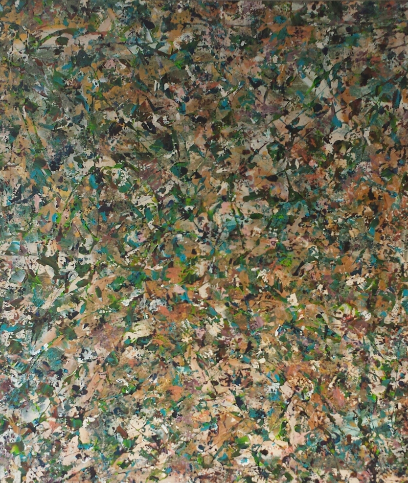 Title: Just a hunch - 1 m 50 x 1 m 30 - verkocht sold
