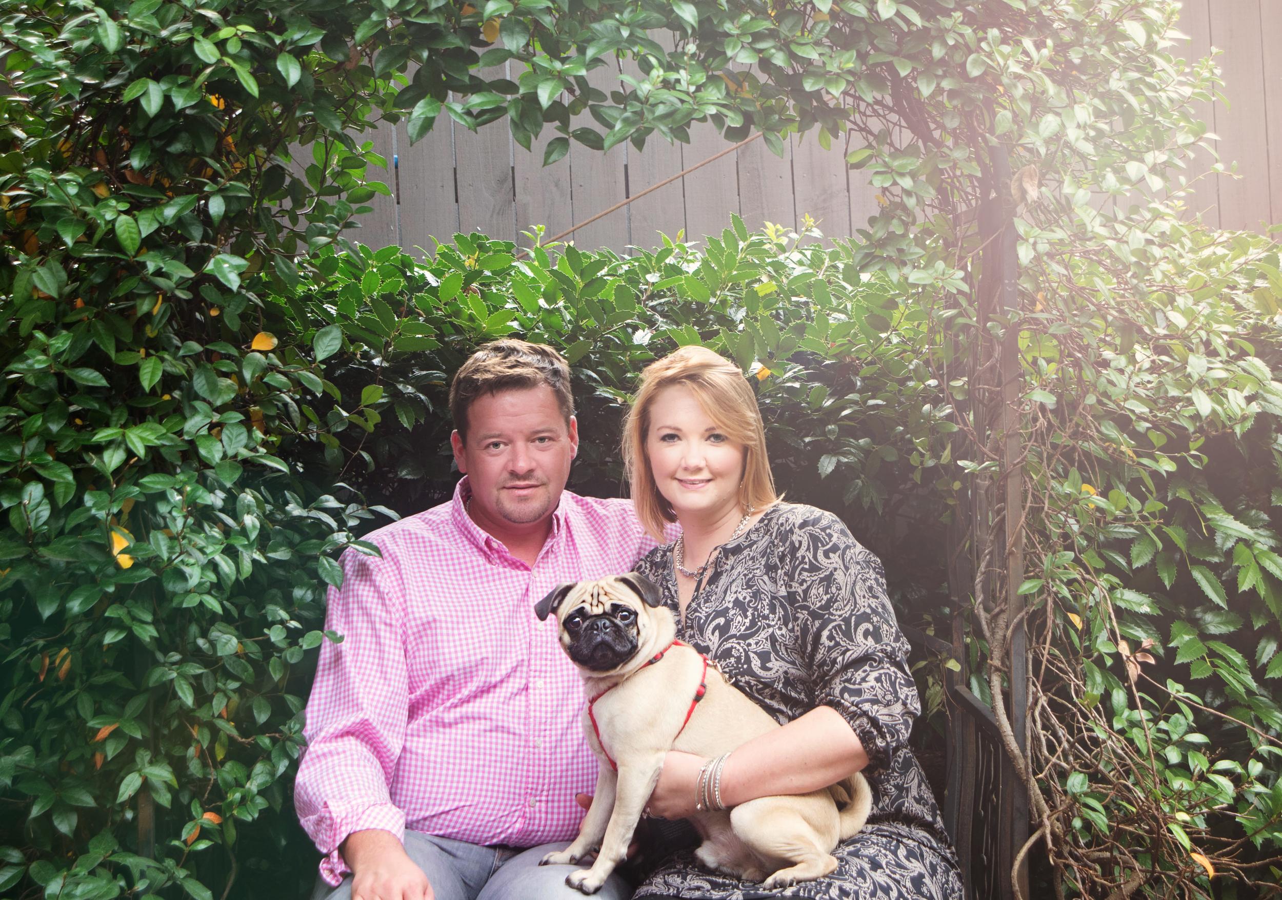 Candice & Scott Eubanks, Thomasville GA ©Karen Kelly Studios 2015