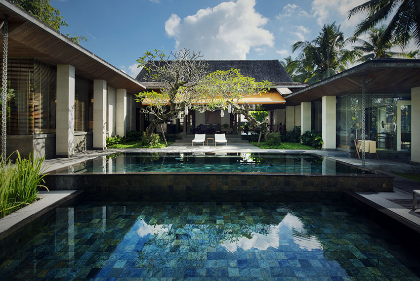Bali Luxury Resort, Chapung Sebali, private villa and swimming pool