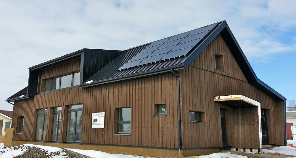 Fort St. John Passive House, Fort St. John, BC. Credit - Marken Projects