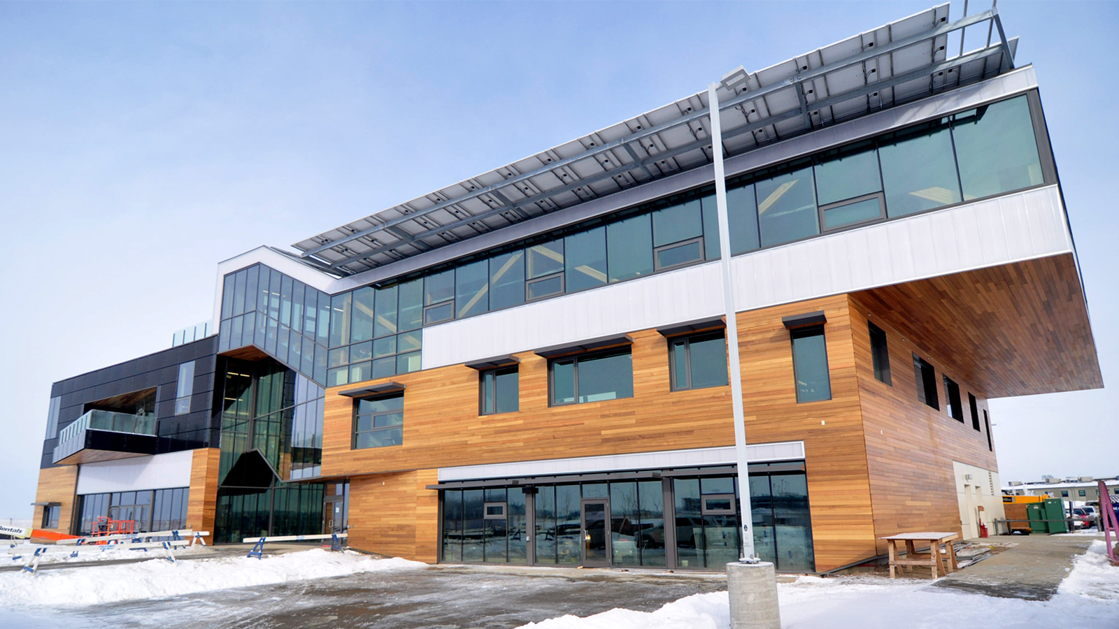 Mosaic Center NZE offices, Edmonton, AB