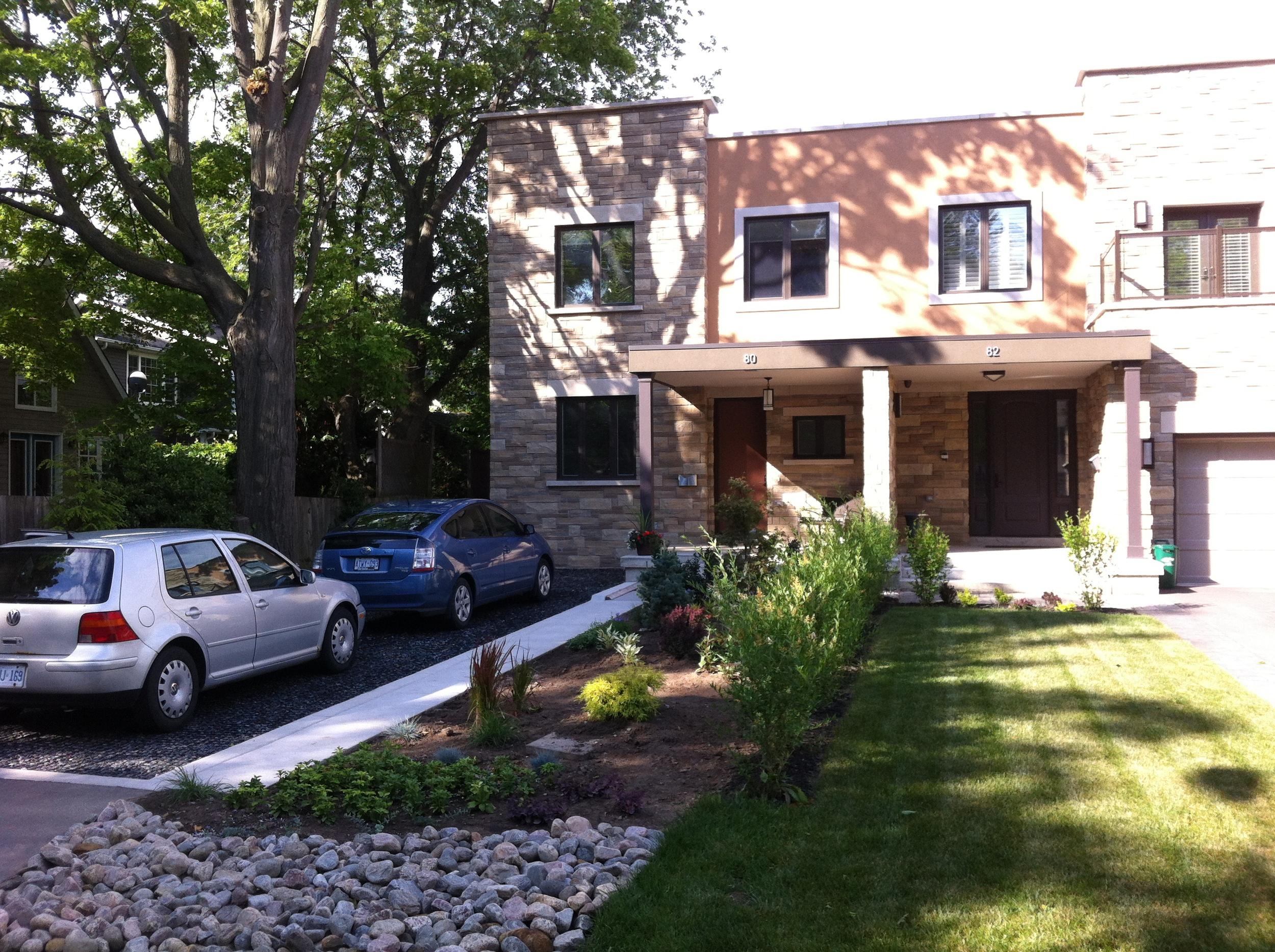 Brant Street Passive House Duplex, Oakville, ON. Credit - Passive House Ontario.