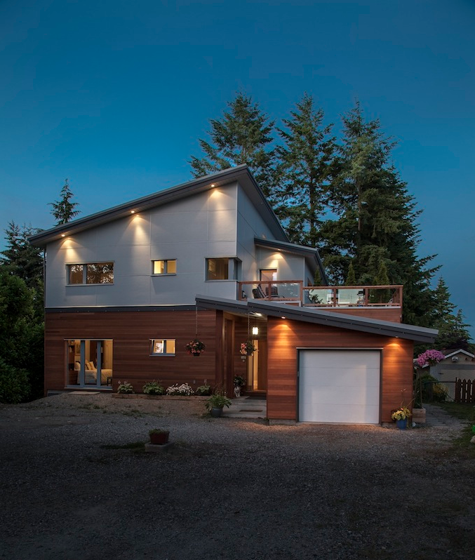 South Surrey Passive House, Surrey, BC. Credit - Marken Projects