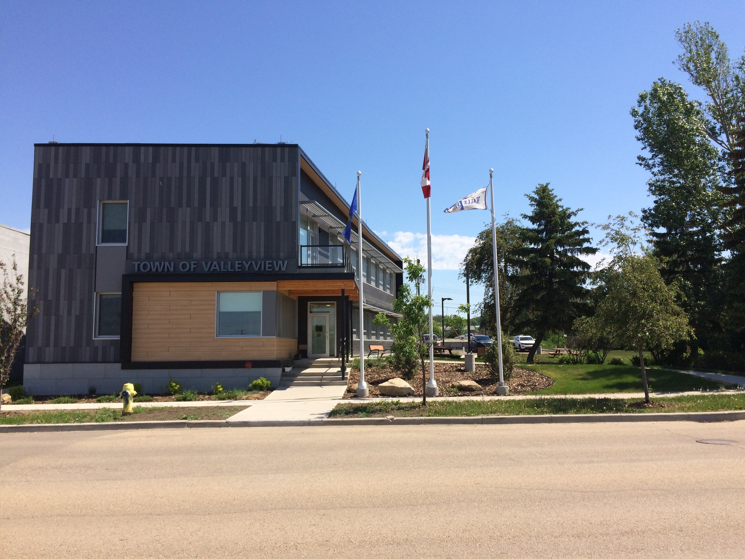 Valleyview Townhall Passive House, Valleyview, AB