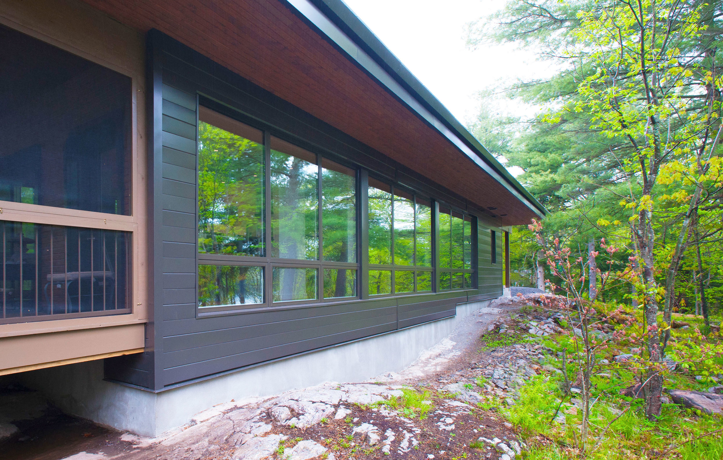 Frontenac Residence - Frontenac, ON. - Credit - Solares Architecture