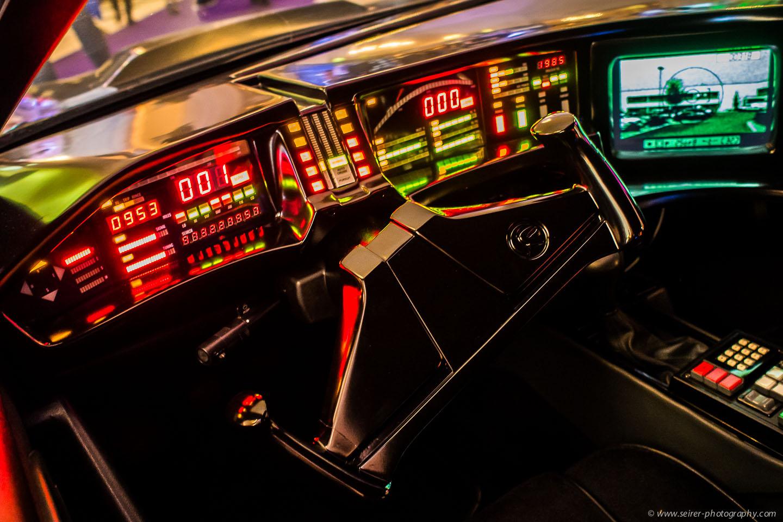 Sogar Kit - das Auto von Knight Rider - war zu bestaunen