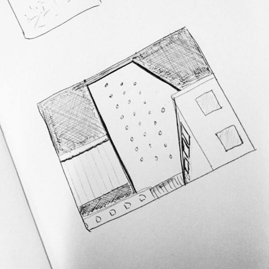 Back to basics: doing some sketches while analysing the composition of photographs