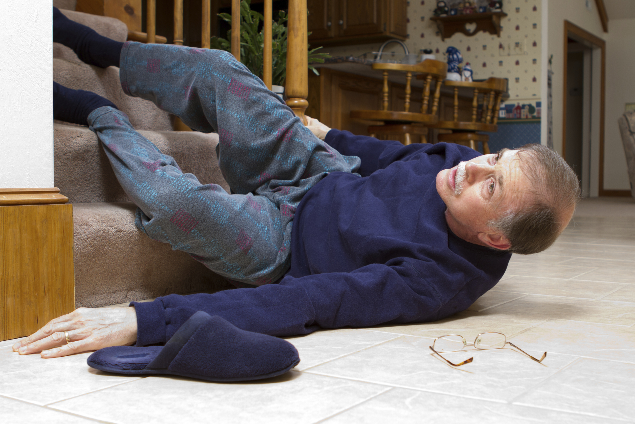 Falls and injuries can be prevented with careful planning.
