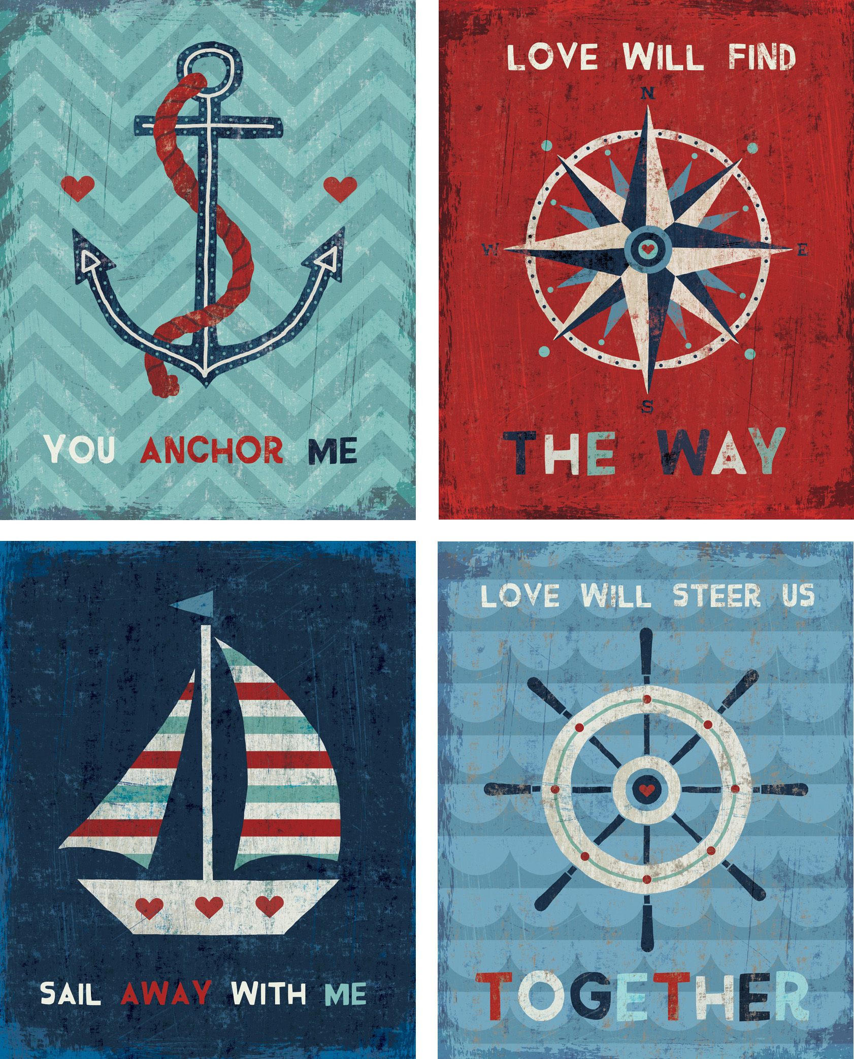 The Nautical Love Collection — Michael Mullan