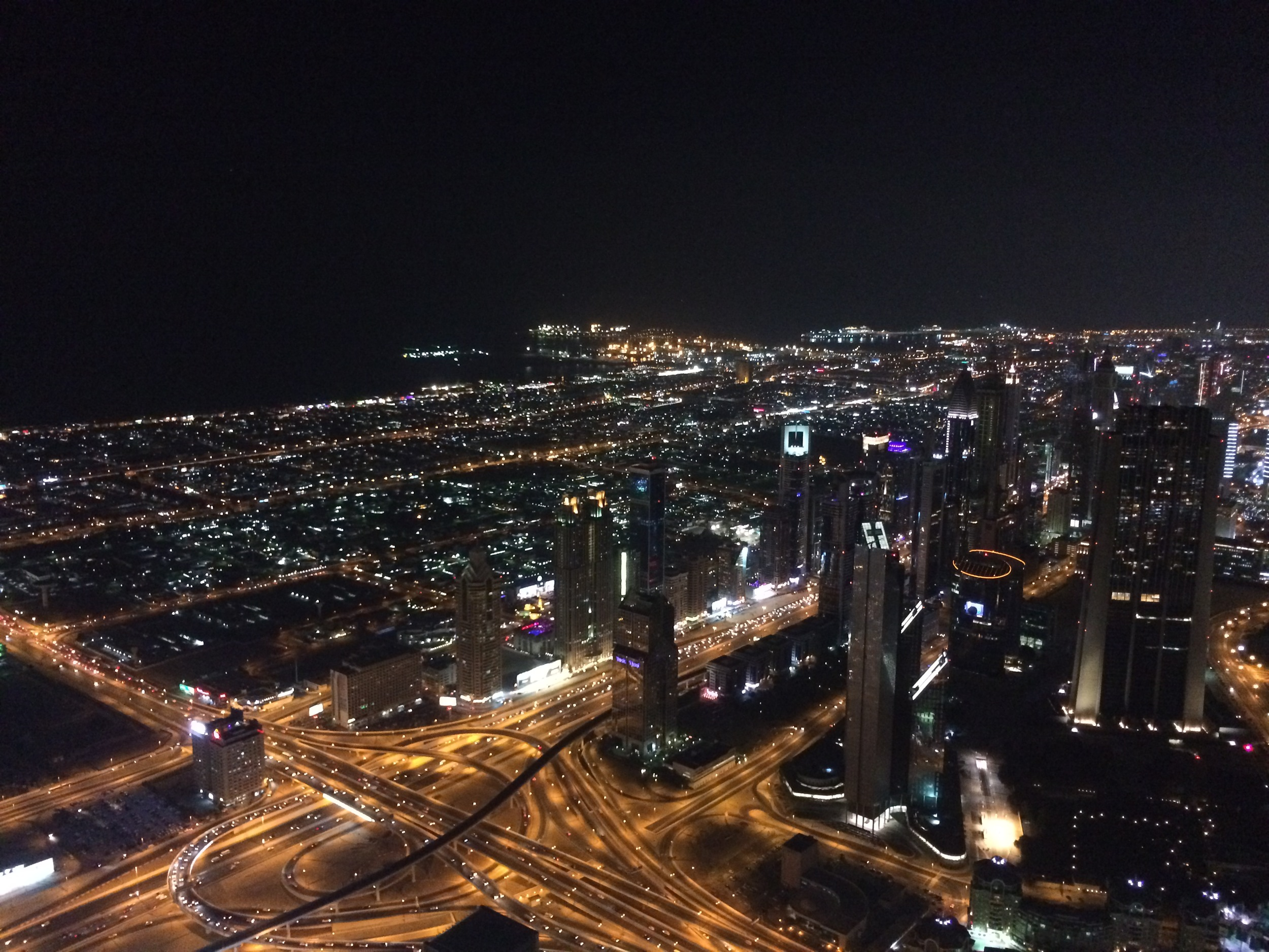 View from the top! Burj Khalifa