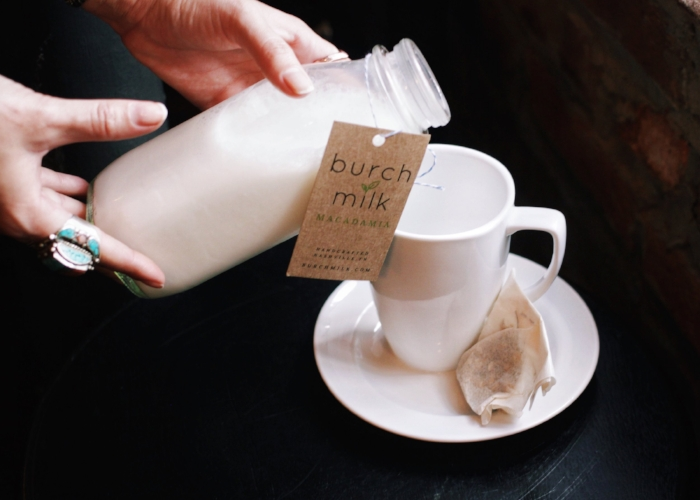 Burch Milk's Macadamia Nut Milk | Photo by Lauren Roberts