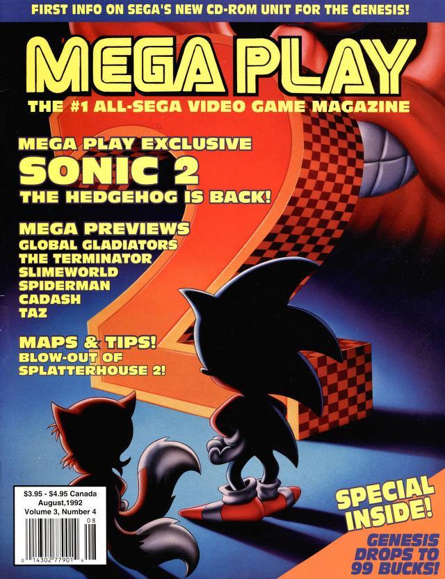 *This episodes Magazine MEGAPLAY Volume 3, Number 4