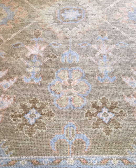 My rugs are from Rouzati Rugs. I have been buying from them for almost 20 years!