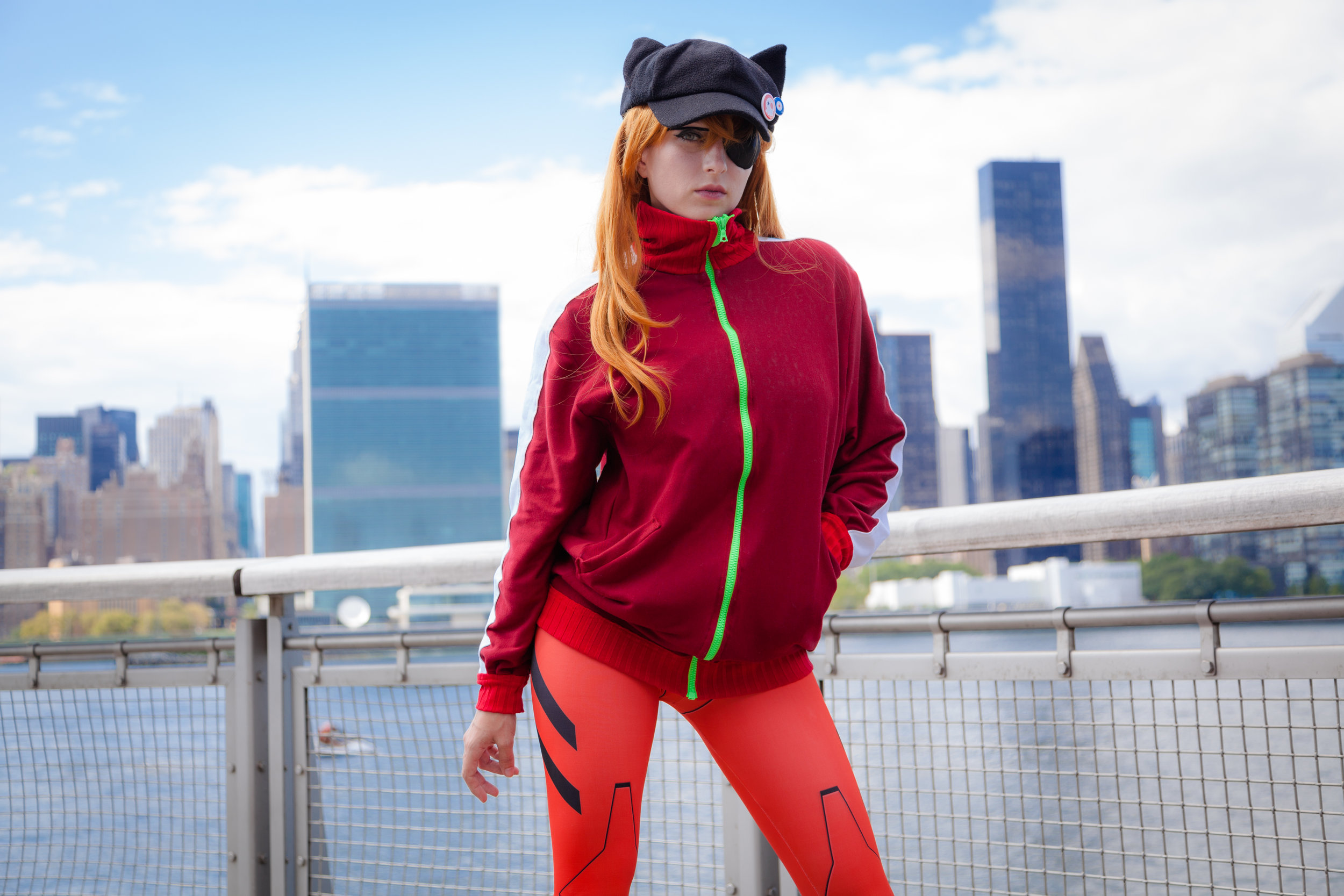 Asuka Langley Shikinami - Eva 3.0 Q Movie Jacket