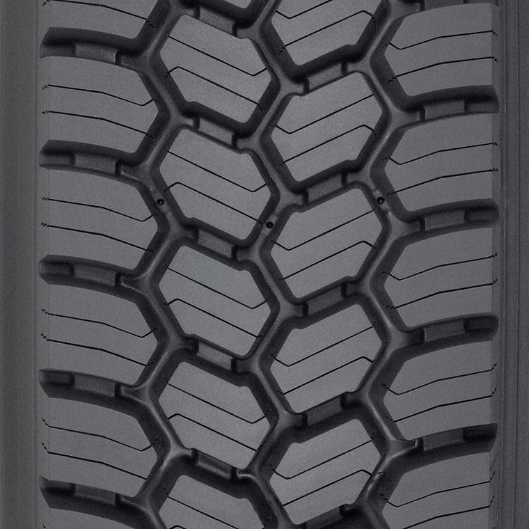 Michelin XDS2    Regional Drive Tire - Snow & Mud