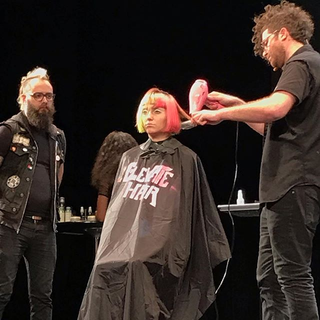 Elevate Hair show New Orleans #avedaartist #avedastylists #hairshows