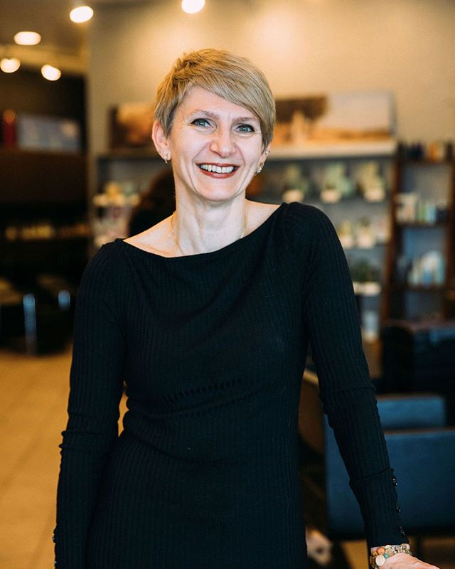 Meet Nadya, our salon owner, expert colorist and short hair extraordinaire.