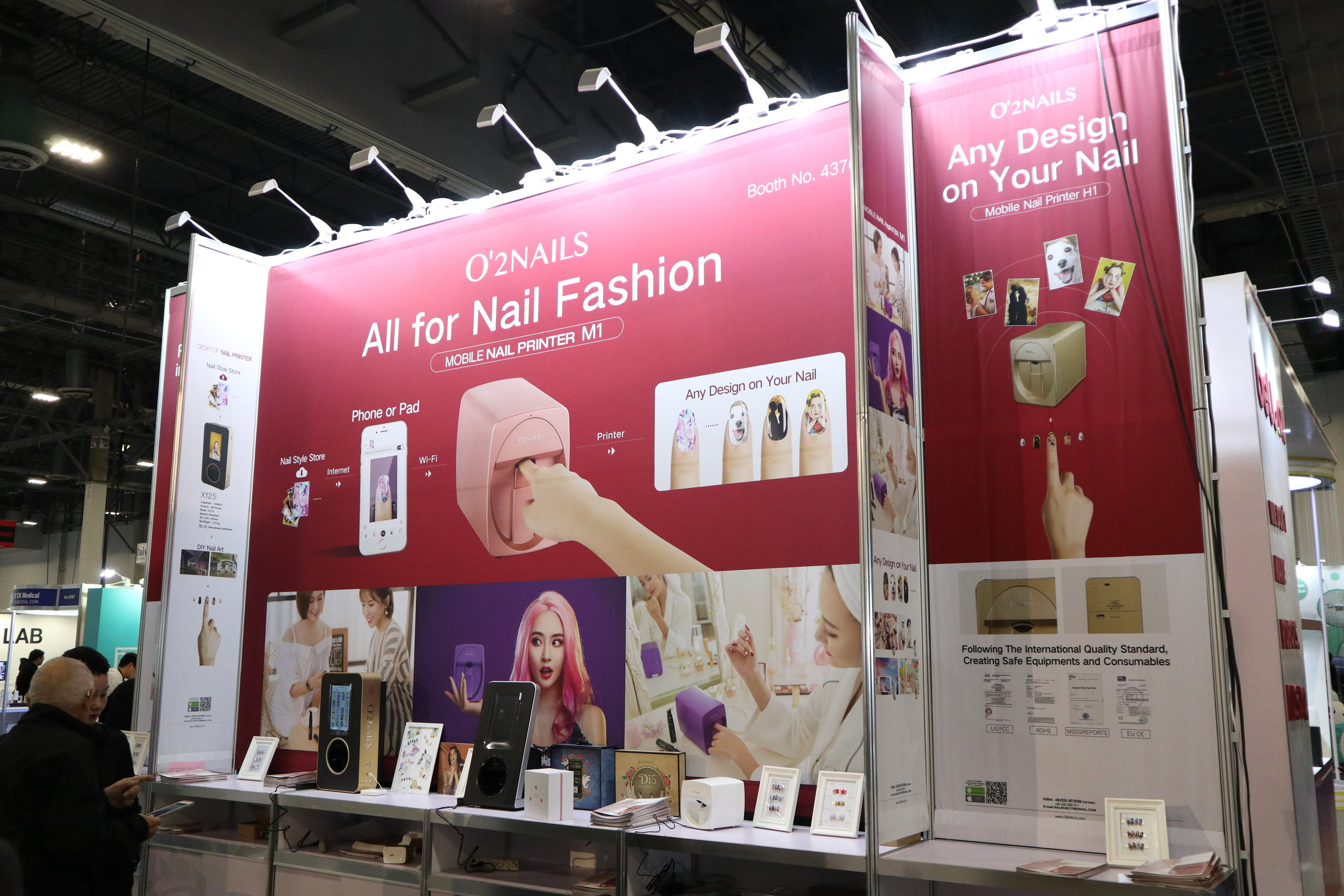 From printed nail designs to skin age identification and printable make-up solutions — the beauty industry is embracing technology at a rapid pace