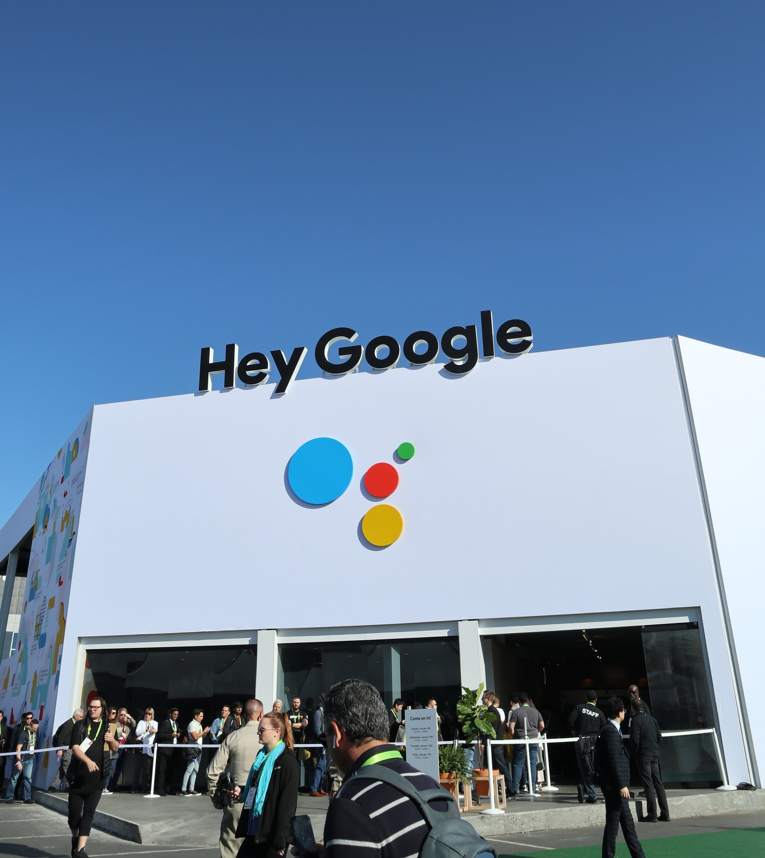 Google spent a fortune educating CES attendees with an entire building and roller coaster ride devoted to displaying Google Assistant functionality - Was it necessary?
