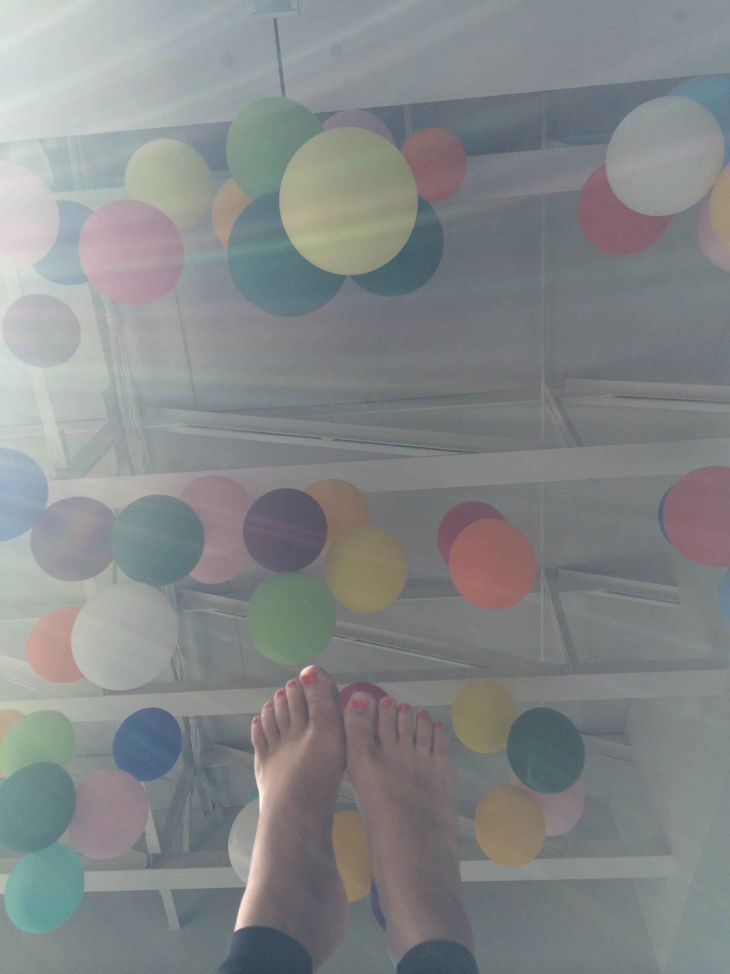 Last balloons.