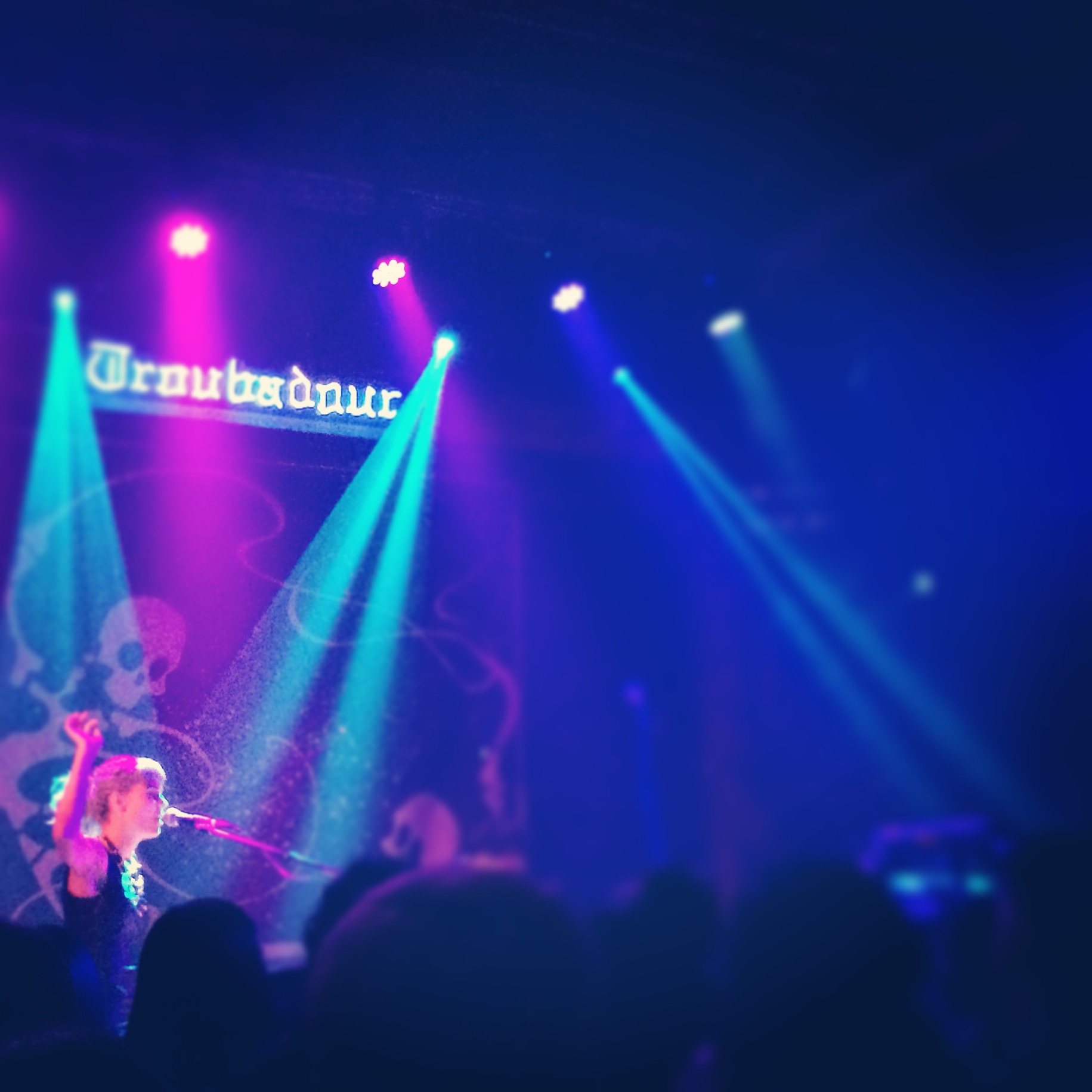 girl's night to Oh Land @ the Troubadour