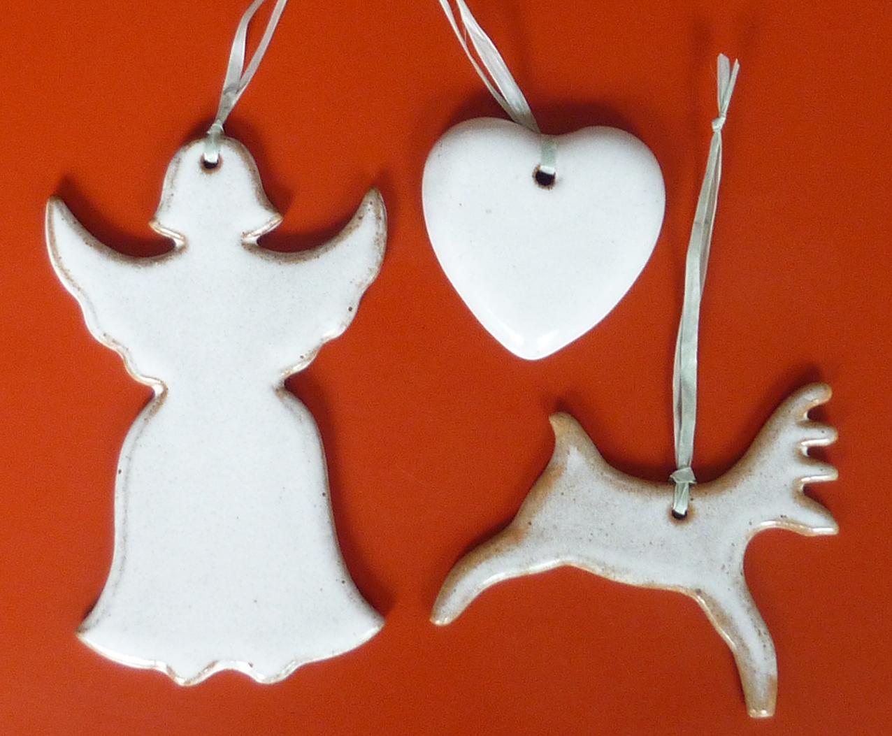 Ceramic Christmas decoration collection 2013