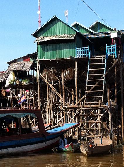 Kampong Phluk floating village, Tonle Sap lake, Siem Reap