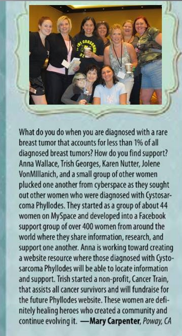 Breast Cancer Wellness Magazine: Healing Heroes, April 2013