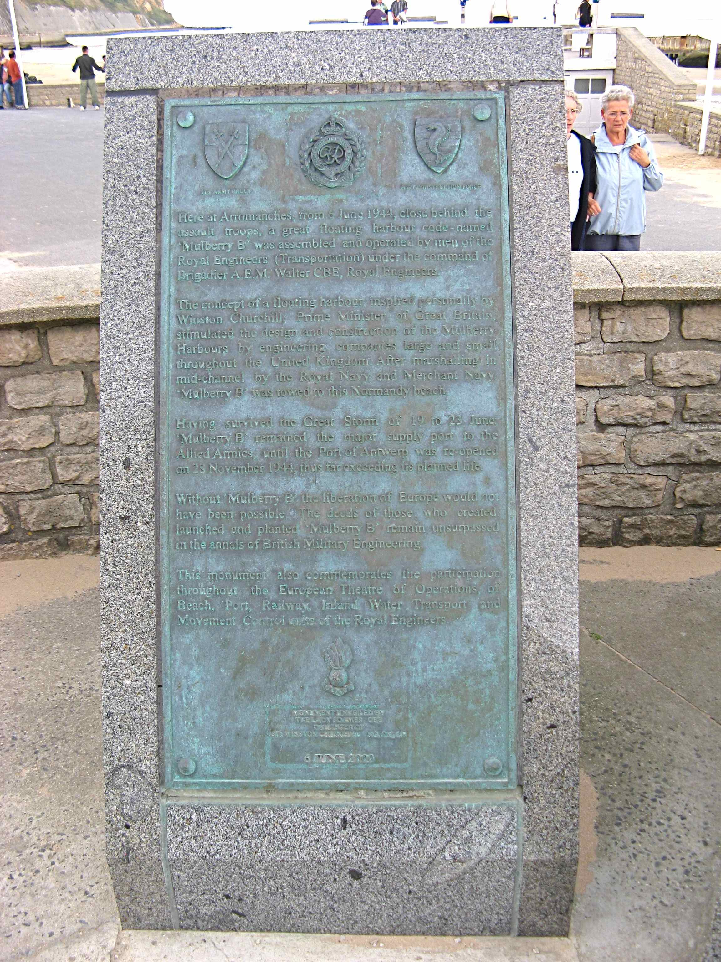 Arromanches Memorial